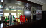 The bar at Allura Guest House