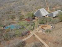 Arial View Esikhotheni Lodge - Jozini Dam, KwaZulu Natal