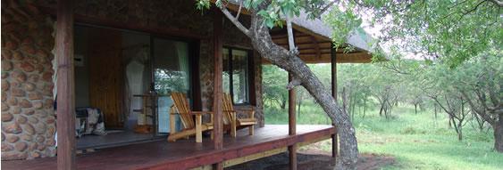 Esikhotheni Lodge - Deck View