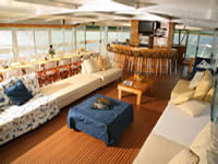 Houseboat Lounge Area