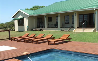 Chick's Game Lodge Pool