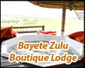 Bayete Zulu Boutique Lodge
